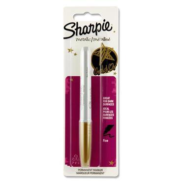 Sharpie Gold Metallic Permanent Marker