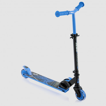 Neon Vector Scooter Blue