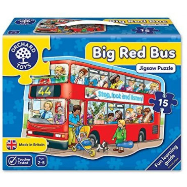 Big Red Bus Jigsaw