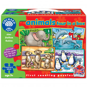 Animals Four In A Box