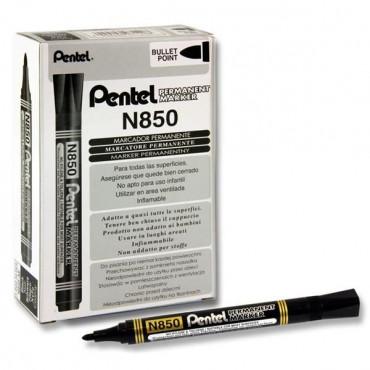 Permanent Marker Bullet Point - Black Pentel