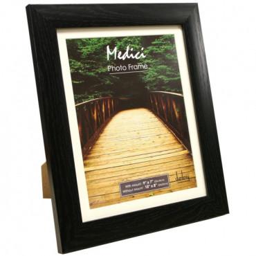 Photo Frame 6X4 Black Wood