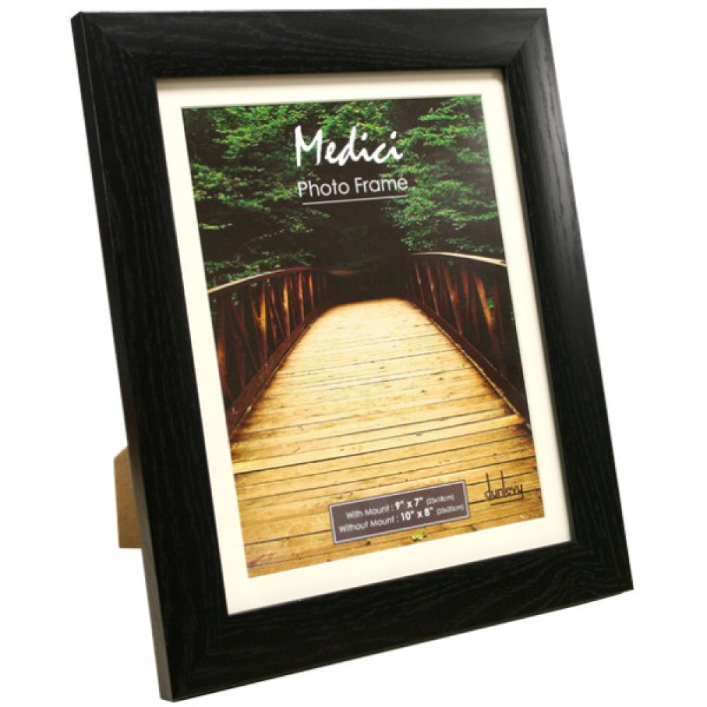 Black 10X8 Frame With Mount