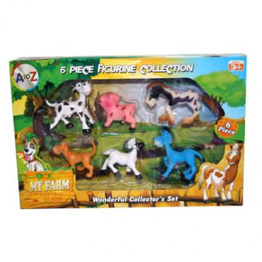 Baby Farm Animals 6Pcs