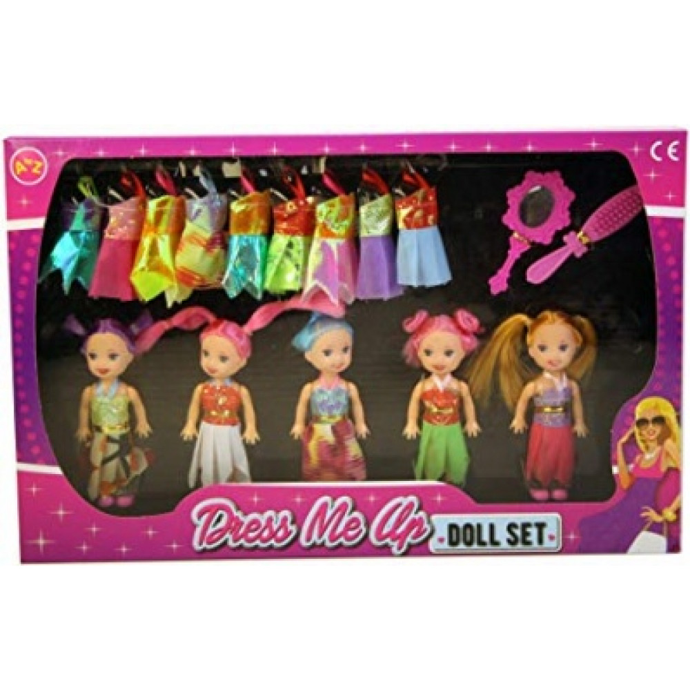 Best Friends Doll Set 5Pc
