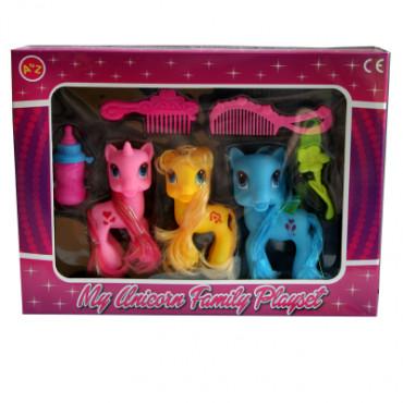 Unicorn Family Set