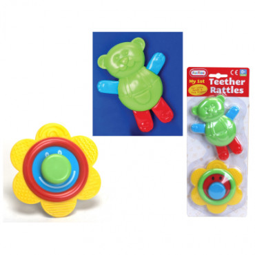 Rattle and Teether 2pce