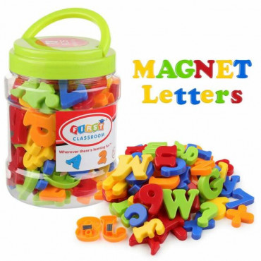 78Ps Magnetic Letters And Numbers In Tub
