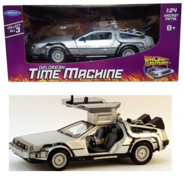 1:24 DIECAST BACK TO THE FUTURE 1