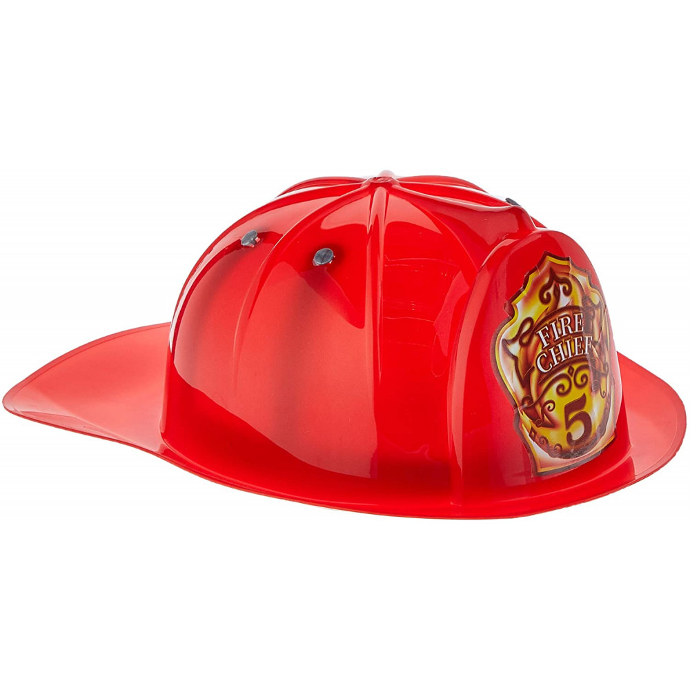 Fire Chief Helmet Red