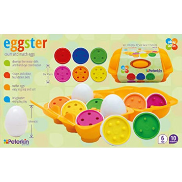 Eggster Count And Match Eggs