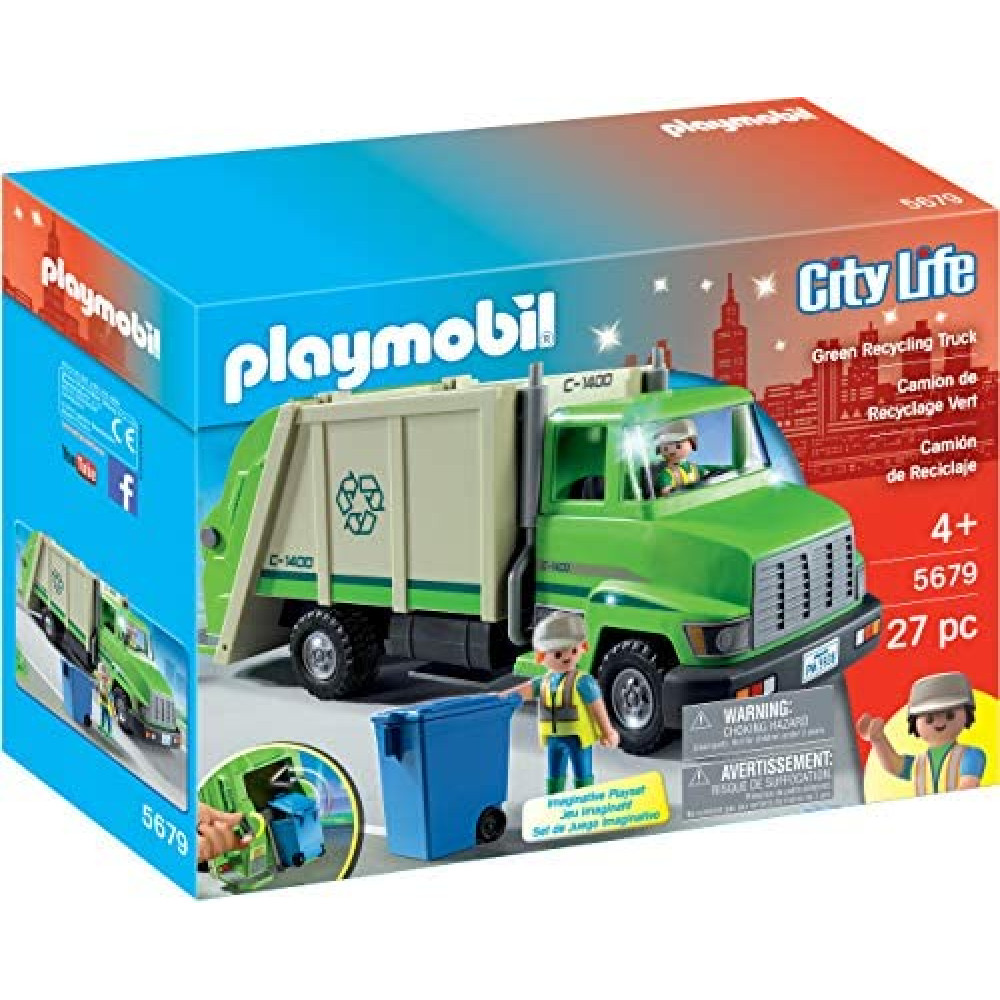City Life Recycling Truck