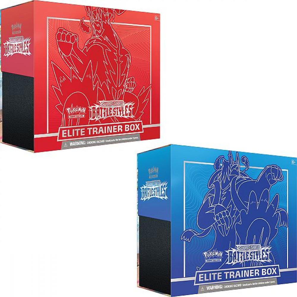 Pokemon  Battle Styles Elite Trainer Box  Ass