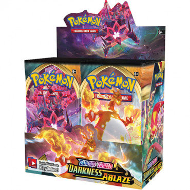 Pokemon Booster Sword and Shield Darkness Ablaze