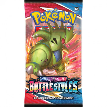Pokemon Battle Styles Boosters Assorted   Max 10 P
