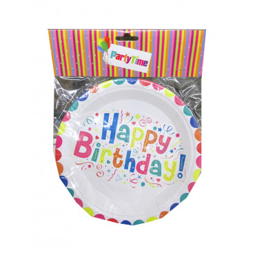 Birthday Paper Plates
