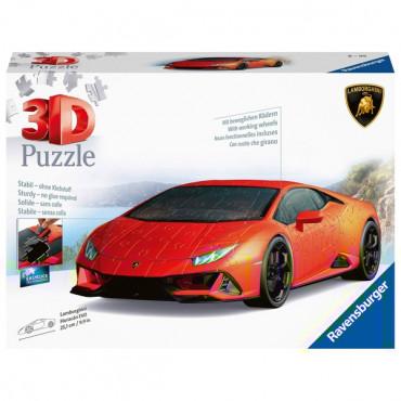 Lamborghini Huracan 108Pce Shaped Puzzle