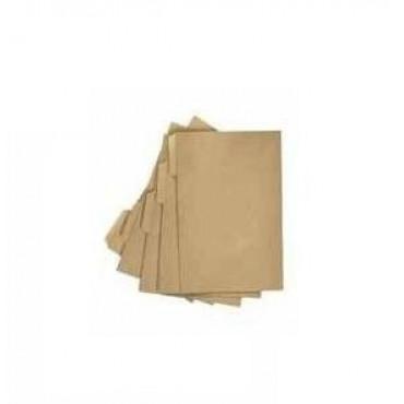 Foolscap Folder Brown Single