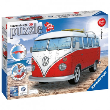 Camper Van  3D Puzzle 162Pc