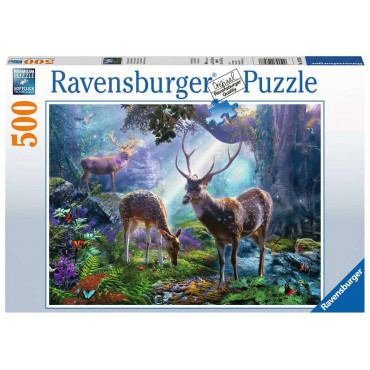 Deer In The Wild 500pc Puzzle