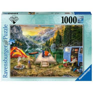 Calm Campsite 1000 Piece Puzzle