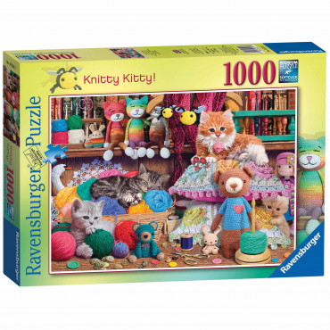 Knitty Kitty 1000 Piece Puzzle