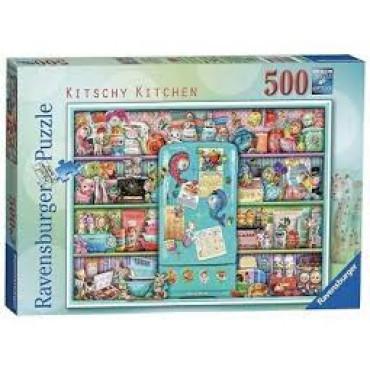 Kitschy Kitchen 500 Piece Puzzle