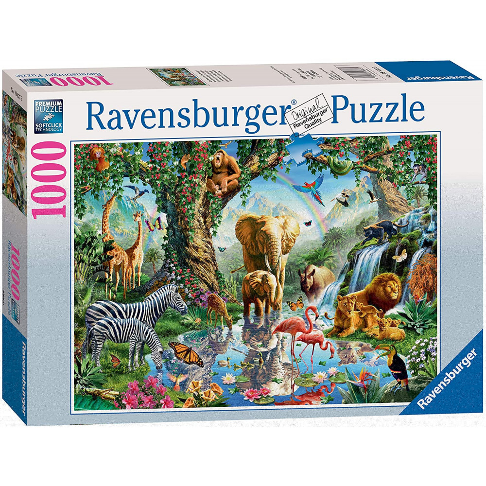 Adventures In The Jungle 1000 Piece Puzzle