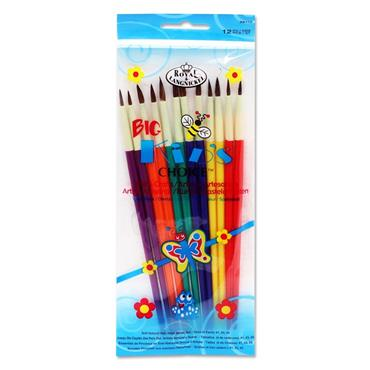 12pce Brush Set Big Kids Choice