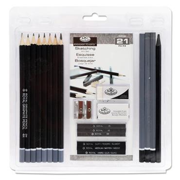 Essential 21pce Art Sketching Set