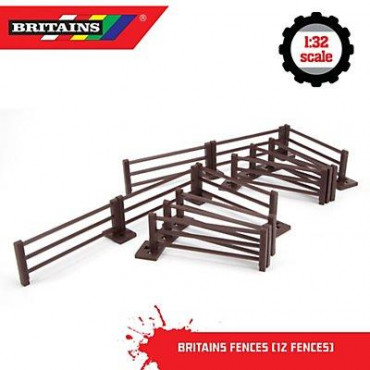 Farm Fencing 12 pack Britains 1:32 scale