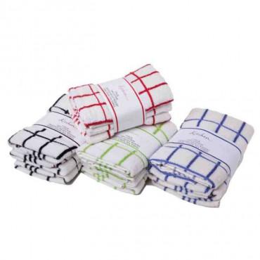 Tea Towel Pk 4 Microfibre