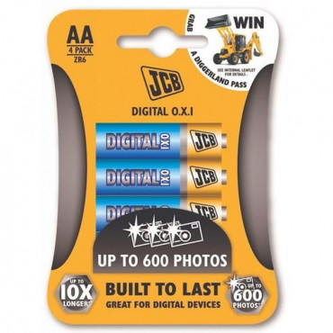 Aa Battery Jcb 4 Pk