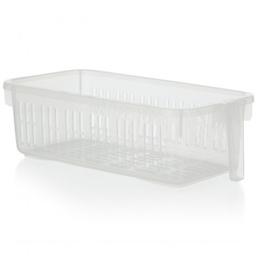 Caddy Basket With Handle Clear