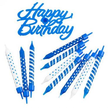 31Pc Happy Birthday Candle Set