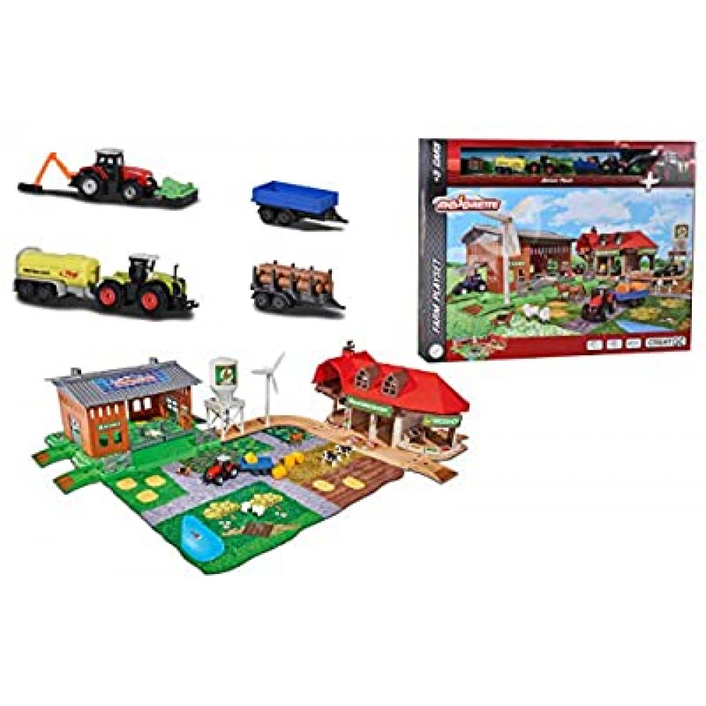 Creatix Big Farm and 5 Vehicles