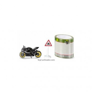 Motorbike with Tape 1:87 scale