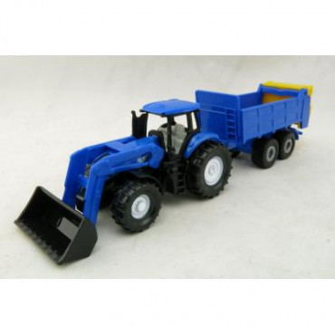 New Holland with Universal Manure Spreader 1:87 sc