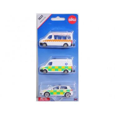 Ambulances Gift Set 3Pk
