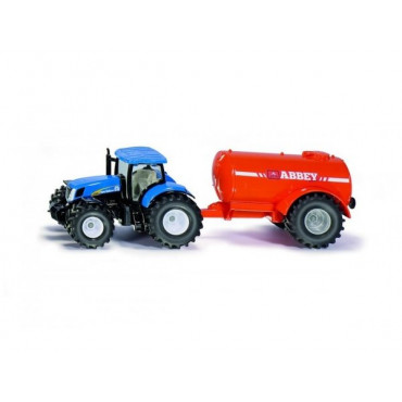 New Holland With Single Axle Abbey Tanker 1:50