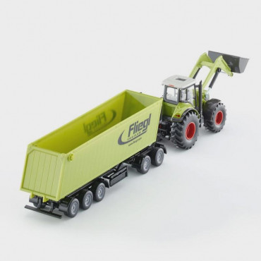 Claas Wfront Loader Dolly & Tipping Trailer 1:50