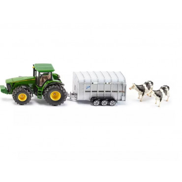 Fendt Tractor With Ifor Trailer 1:50
