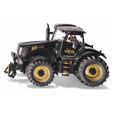 1:32 Gold and Black JCB 8250 Tractor and Driver