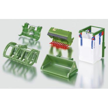 Frontloader Accessories Green 1:32