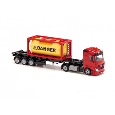Mercedes Benz Truck with Bulk Container 1:50