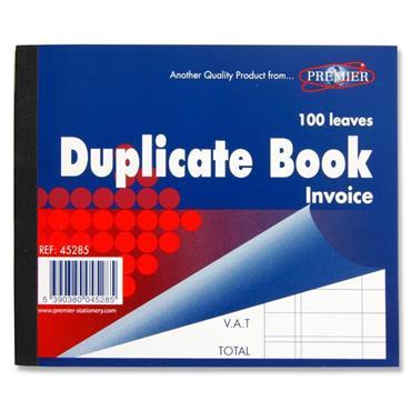 Duplicate Invoice Book 4X5In