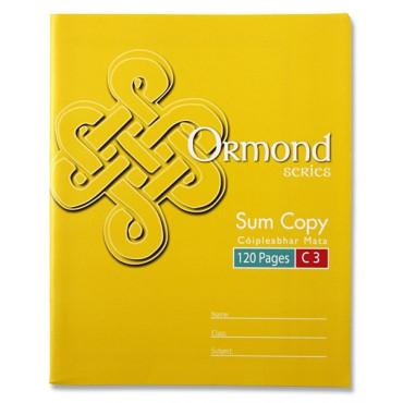 120Pg Sum Copy Book Single