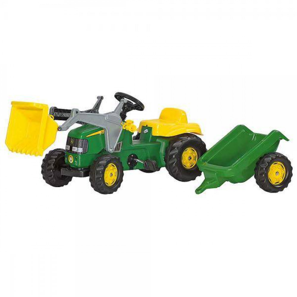 Rolly John Deere Tractor/Trailer/Loader