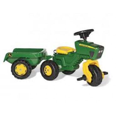 Rolly Jh Deere Tractor & Trailer