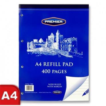 A4 Refill Pad 400 Pg Top